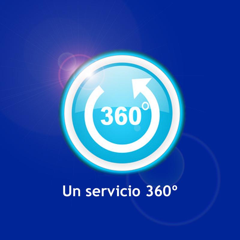 A COMPREHENSIVE 360º SERVICE